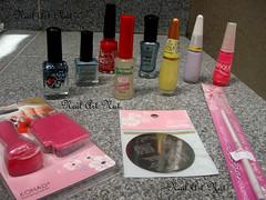 Ganhos e compras *-* (NailArtNat) Tags: pink art angel big nail rosa vermelho amarelo chrome impala pincel eliana lilás unha universo carimbo fosco esmaltes craquelado sancion artística decorada flocado holográfico