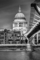 Everytime I pass I just have to take another photo.......... (violinconcertono3) Tags: bridge london thames landscapes unitedkingdom fineart stpauls cityscapes milleniumbridge stpaulscathedral fineartphotography davidhenderson london2012 londonist fineartphotographer londonphotographer 19sixty3 19sixty3com