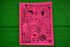 ESPIR x RAKE (billy craven) Tags: chicago poster graffiti screenprint rake msg serigraph bhats 1ls yrk ih8 espir qfk