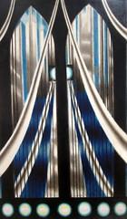 San Francisco - SoMa: SFMoMA - Joseph Stella's Bridge (wallyg) Tags: sf sanfrancisco california bridge museum painting sfmoma sanfranciscobayarea bayarea soma southofmarket sfist josephstella sanfrancicomuseumofmodernart