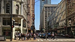 Chicago, 2012 (gregorywass) Tags: street city people chicago architecture buildings crosswalk
