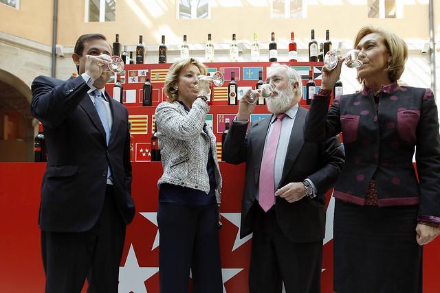 La Comunidad se convierte en referente en proyectos de investigación sobre enología y vinos en España (28 marzo 2012)
