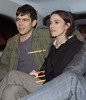 Keira Knightley and her boyfriend James Righton out and about in Soho. London, England