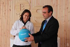 Conchita Martinez visita el village de Banco Sabadell (BancoSabadell) Tags: barcelona open banco atp tennis tenis martinez banc conchita sabadell godo conchitamartinez barcelonaopenbancsabadell bcnopenbsphotocall bcnopenbs2012