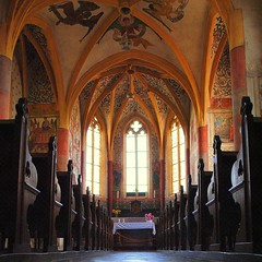 our local Sixtine Chapel (mujepa) Tags: france church architecture gothic chapel lorraine glise gothique frescoes sixtine fresques sillegny mygearandme ringexcellence rememberthatmomentlevel1 rememberthatmomentlevel2