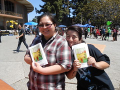 World Book Night Book Recipients @ Chabot College - April 23, 2013 - Hayward, California - 101 (Hayward Public Library) Tags: california reading libraries books literacy thelanguageofflowers cityofhayward 94541 haywardpubliclibrary vanessadiffenbaugh worldbooknight2013