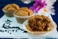 Black Tea-Lemon Cornmeal Cake (Food Is My Life / Foodie Baker) Tags: food cakes breakfast muffins cupcakes baking lemon tea eating desserts recipes polenta cornmeal blacktea