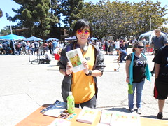 World Book Night Book Recipient @ Chabot College - April 23, 2013 - Hayward, California - 090 (Hayward Public Library) Tags: california reading libraries books literacy thelanguageofflowers cityofhayward 94541 haywardpubliclibrary vanessadiffenbaugh worldbooknight2013