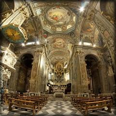 Chiesa di Finalborgo (SV) (celestino2011) Tags: raw ngc chiesa architettura hdr barocco interno savona photomatix nikcolorefex samyang8mm