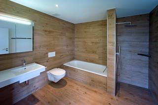bathroom without wood