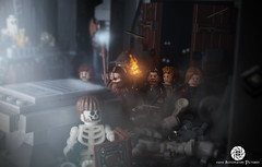 Balin's Tomb (Automaton Pictures) Tags: pictures light skeleton toy mine sad lego dwarf tomb lord ring mines minifig