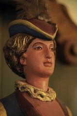 Close up of Tilden Carousel Statuette (Mr.Wilson aka Mr.Wizard) Tags: ca 50mm oakland pentax carousel tildenpark k50 tildencarousel 50mmyongnuo