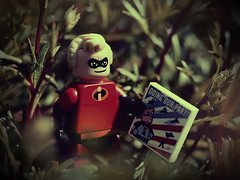 Mr. Incredible (Jam-Gloom) Tags: macro cute garden toy miniatures miniature lego olympus disney mickey mickeymouse dreamy 28 heroes 60mm figurine donaldduck sleepingbeauty incredibles mrincredible villians 60mm28 toyphotography maleficient legomodel series16 toyography 60mmmacro28 legofig legodisney olympusuk legofigurine olympusomd olympusomdem5 legoseries16 legorine