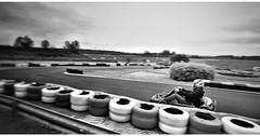 Karting Race (Noiron-sous-Gevrey, dpt 21 - France) (asterfred71) Tags: blackandwhite france race speed fun dijon noiretblanc wideangle course tokina kart uga bourgogne karting vitesse fil grandangle noiron d7100 1120mm nikond7100