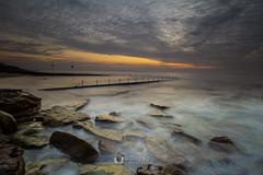 Cronulla Sunrise (davywg) Tags: water pool rock sunrise canon movement rocks hard sydney 9 australia formation bach nsw tidal hitech cpl cronulla nisi 112mm rgnd lucroit
