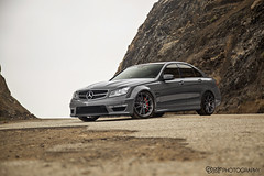 Mercedes C63 AMG. (Charlie Davis Photography) Tags: