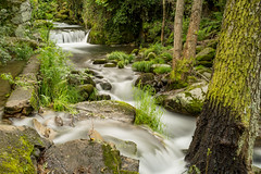 Rio Ambroz (Caceres) (Carlos Garcia Figa) Tags: nature water rio river landscape waterfall long exposure little sony paisaje filter nd arroyo density haida stopper cascada neutral caceres hervs castaar ambroz rx1r