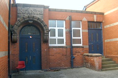 Pendlebury High School 7th August 2006 (kersalflats) Tags: road school manchester high 2006 salford cromwell 2000s sefton swinton pendlebury