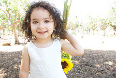 Gianna_0036 (Ciara*) Tags: girl kid toddler smiles cutie niece sunflower