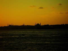 Sunset in Istanbul - Bosphorus (mcy.yusufoglu) Tags: sunset sea nature turkey istanbul bosphorus nightfall nigt yusufoglumcy