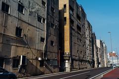 Senigai_04 (Sakak_Flickr) Tags: graffiti gifu nokton shoppingarcade shotengai tonyagai nokton35f14 senitonyagai