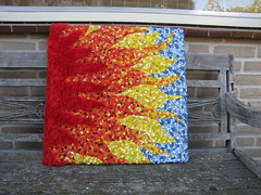pluche zon (Alexandra!2010) Tags: hobby elf fairy alexandra klei werk keramiek draak zeepaardje eigen elfje tovenaar mozaek paverpol handwerken dankers formofit lexiescreatief