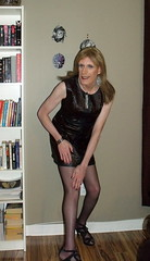 April 2016 (9) (Rachel Carmina) Tags: tv legs cd tgirl transvestite heels crossdresser trap tg femboi