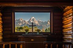 Godly View (greggohanian) Tags: chapel altar grandtetons tetons chuch chapelofthetransfiguration