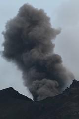 Strombolian Eruption (Derbyshire Harrier) Tags: volcano evening spring dusk ash geology stromboli aeolianislands 2016 pyroclastic activevolcano volcaniceruption strombolianeruption tephra
