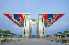Olympic Park World Peace Gate     Flickr Explore 23/05/2016 (ISO__100) Tags: world gate asia peace korea explore seoul olympic olympicpark     flickrexplore  worldpeacegate