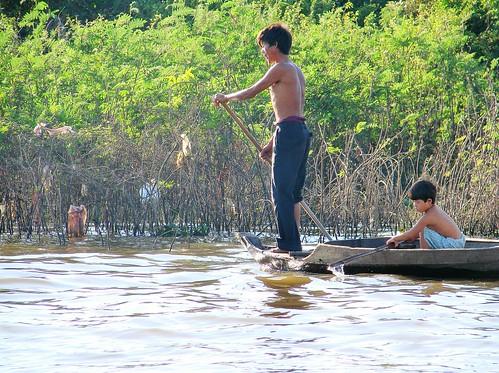 lac tonle sap - cambodge 2007 19