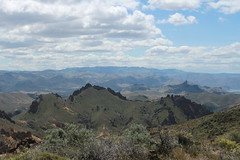 View to the east (rozoneill) Tags: lake oregon river carlton butte desert hiking painted canyon vale trail backpacking saddle blm uplands owyhee honeycombs