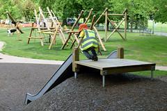 Pittville play area preview day - 24 May 2016 (cheltenhamborough) Tags: kids children child play cheltenham active pittville playarea cheltenhamboroughcouncil pitvillepark