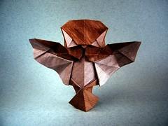 Baby Owl In Flight - Raymond Yeh (Rui.Roda) Tags: baby origami flight owl coruja raymond papiroflexia bho yeh in hibou eule mocho papierfalten