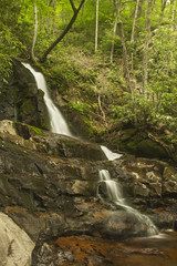 Laurel Falls (squeemu) Tags: park mountains nature outside waterfall hiking tennessee great hike falls national smoky southeast laurel
