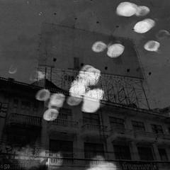 """""""Rain on Bangkok"""". II.  S.A (Maelstrm Bordelum -  S.A) Tags: square blackwhite bangkok sylvestreanasse"""