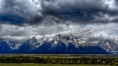 Riders of the storm (jrlarson67) Tags: park sky mountain storm mountains clouds landscape nikon grand national serene wyoming teton tetons hdr d500