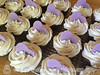 Heart-Topped Baby Shower Cupcakes