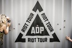 ADP Riot Tour, Bristol (pixelhut) Tags: bristol uk england southwest city urban adp riot tour trinitybristol trinitycentre aftermathdislocationprinciple jimmycauty art container logo candid people unposed