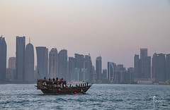 Doha, Qatar (Foraggio Photographic) Tags: travel building lines architecture boat perspective sydney structure doha qatar dhow miapark