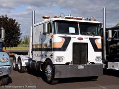 1977 Peterbilt 352 (Truck Exposure) Tags: coe cabover truck19701979