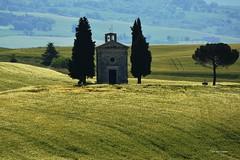 Madonna di Vitaleta. Val d'Orcia_Toscana (Ivo Markes) Tags: san tuscany pienza toscana valdorcia dorcia quirico vitaleta