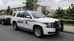 Langley RCMP Marked 2016 Chevy Tahoe (bcfiretrucks) Tags: canada photography lights photo day bc royal tahoe police columbia canadian chevy mounted vehicle british rcmp emergency suv siren marked ppv 2016