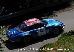 042-DSC_7051 - Renault Alpine A110 - 1300 - 1 U - Capsoni Luigi-Zambiasi Lucia (pietroz) Tags: 6 lana photo nikon foto photos rally piemonte fotos biella pietro storico zoccola 300s ternengo pietroz bioglio historiz