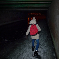 There is light at the end of the 30 meter long tunnel (Bn) Tags: pink blue houses winter light people cold holland ice netherlands dutch amsterdam night dark geotagged lights frozen twilight downtown iceskating skating joy kinderen nederland freezing first tunnel romance skaters canals age skate romantic temperature scare mokum occasion rare grachten pleasure skates blades winters stad harsh jordaan 2012 d66 ijs gluhwein schaatsen rozengracht koud amsterdamse lijnbaansgracht ijspret hendrick chocolademelk grachtengordel hollandse oudhollands gekte winterse avercamp ijzers ijsplezier jordanezen geo:lon=4876310 geo:lat=52372290 ijsnota