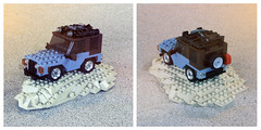 Safari Jeep (Carson Hart) Tags: scale car wheel truck carson photography fossil nice sand lego jeep digging tan ground safari hart geologist dig diorama wrangler minifigure
