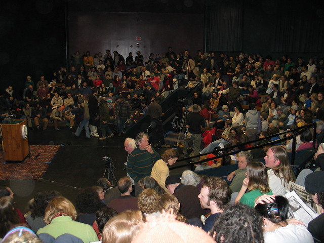 The Whittmore Theater Audience