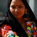 jeune femme Tharu  woman tribe Nepal (Philippe Guy)