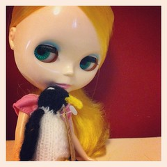 Blythe A Day 3: With Her Toy