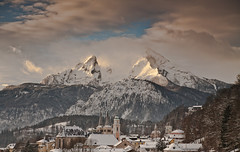 King of Berchtesgaden - The Watzmann (Felixdi) Tags: winter mountain berg berchtesgaden king land canon5d watzmann berchtesgadener berchtesgadenerland berchtesgarden